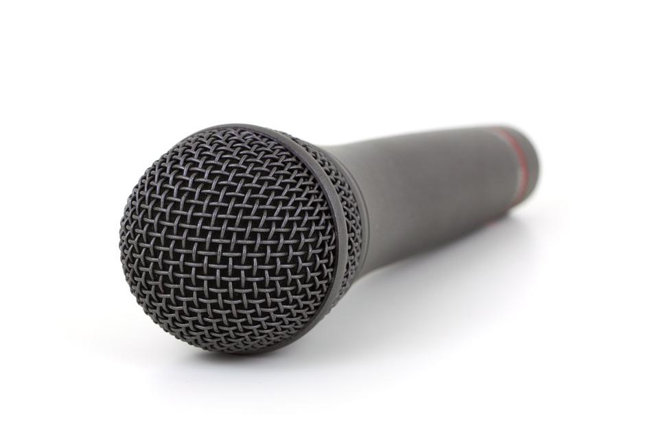 Audio, Communication, Equipment, Isolated, Karaoke