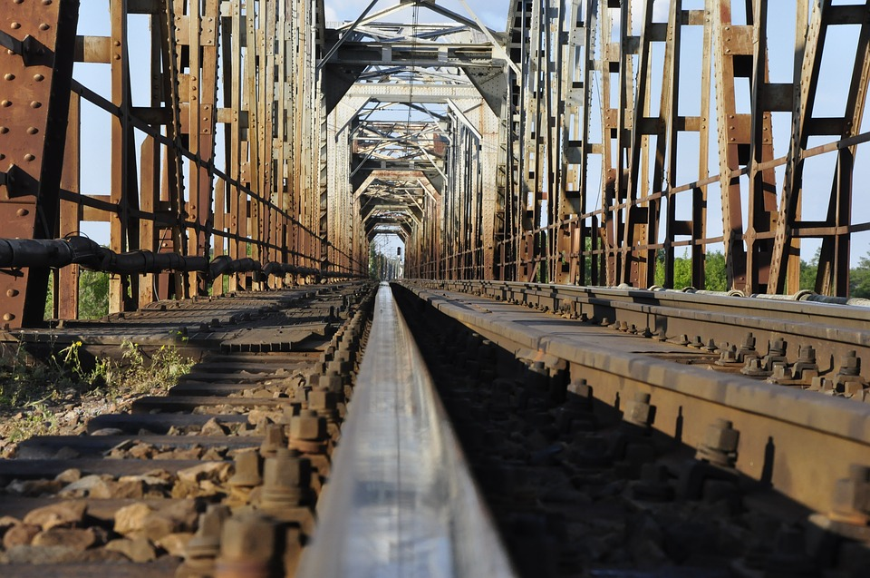 The Viaduct, Splint, Tracks, Railway, Communication