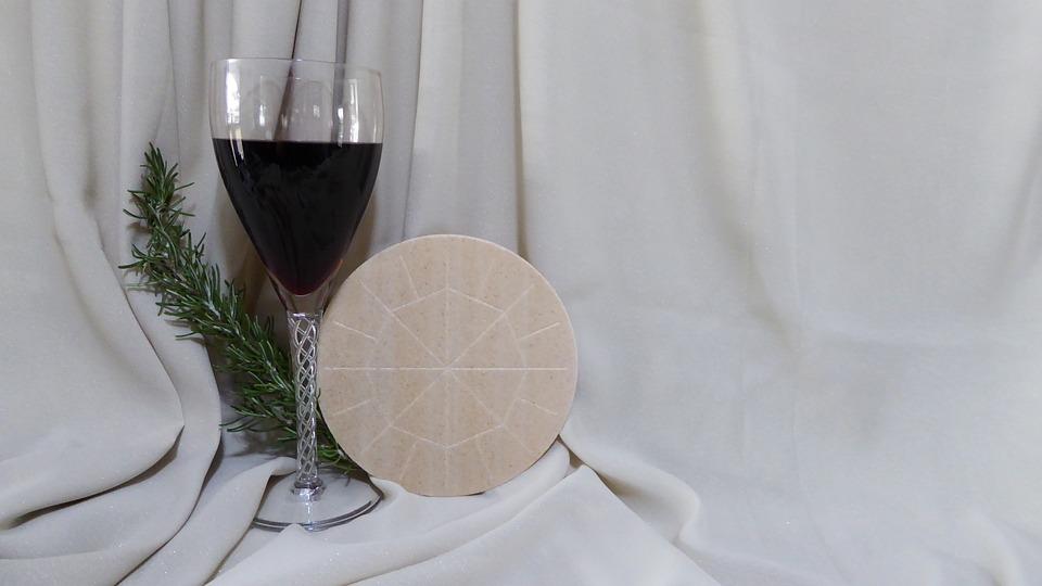 Eucharist, Communion, Mass, Catholic, Bread, Wine