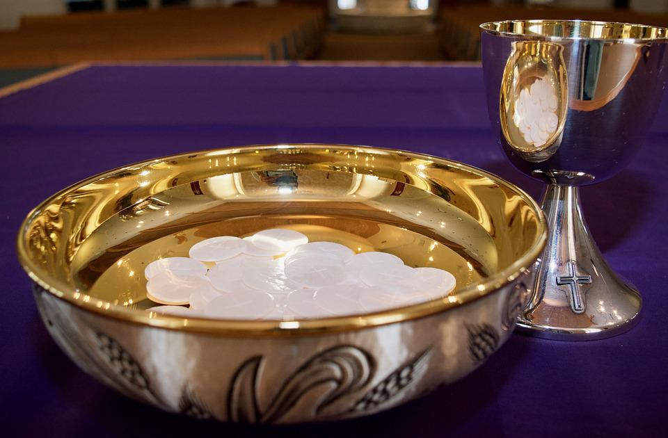 Host, Catholic, Communion, Jesus, Church, Chalice