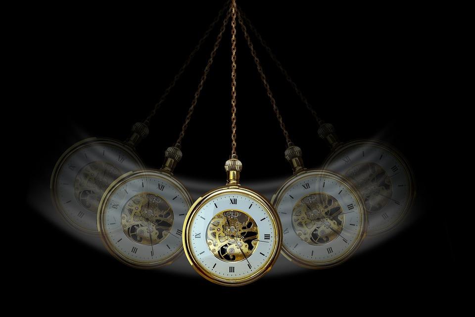 Hypnosis, Clock, Pocket Watch, Pendulum, Commute, Swing