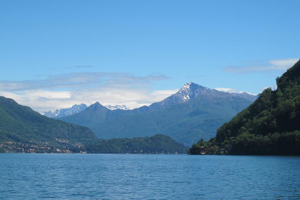 Lake Como, Italy, Lake, Como, Europe, Bellagio, Alps