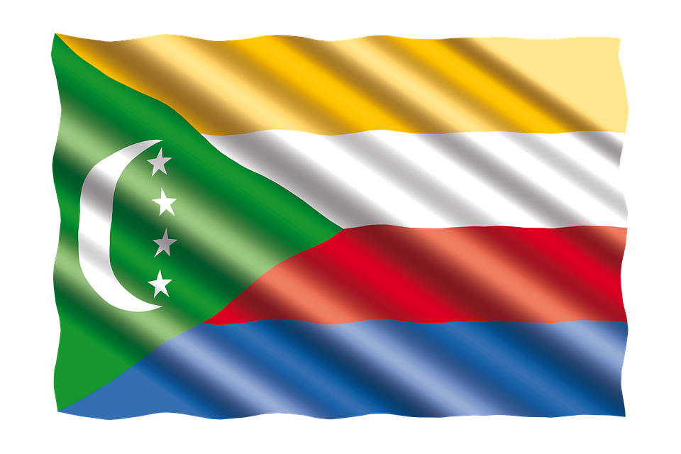 International, Flag, Comoros