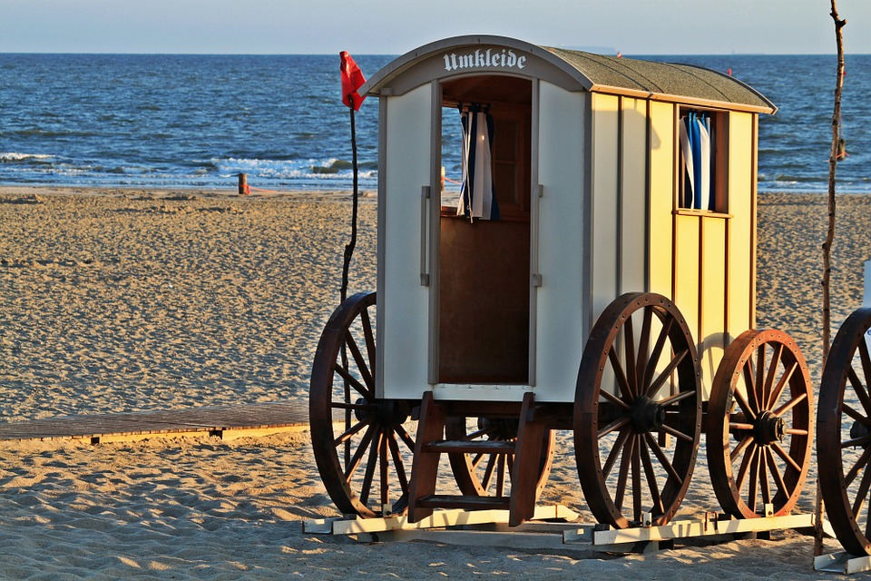 Beach, Changing Room, Sea, Dare, Companions, Nostalgic
