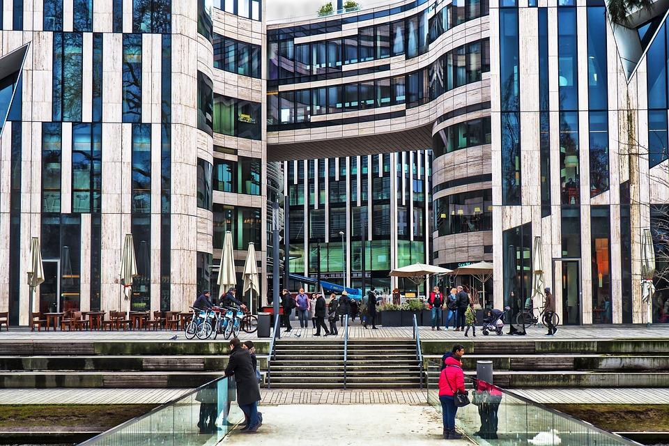 Architecture, City, Facade, Modern, Company, Window