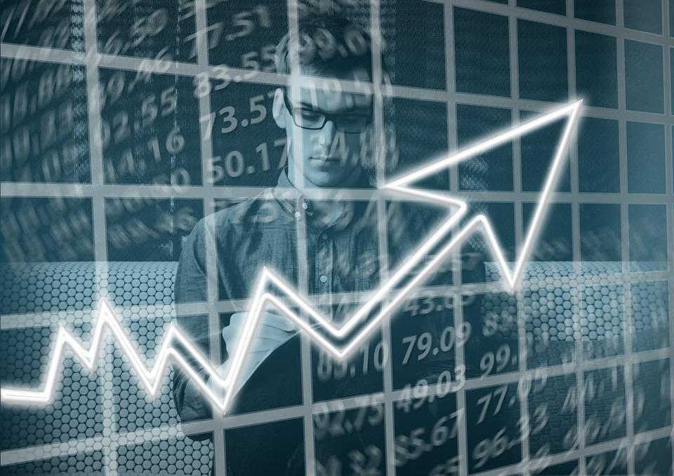 Stock Market Bar Chart: Free photo Statistics Symbol Arrow Graphic Bar Chart - Max Pixel,Chart