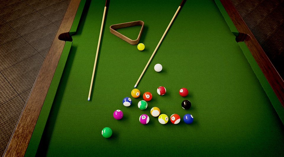 Billiards, Play, Home, At Home, Sport, Competition
