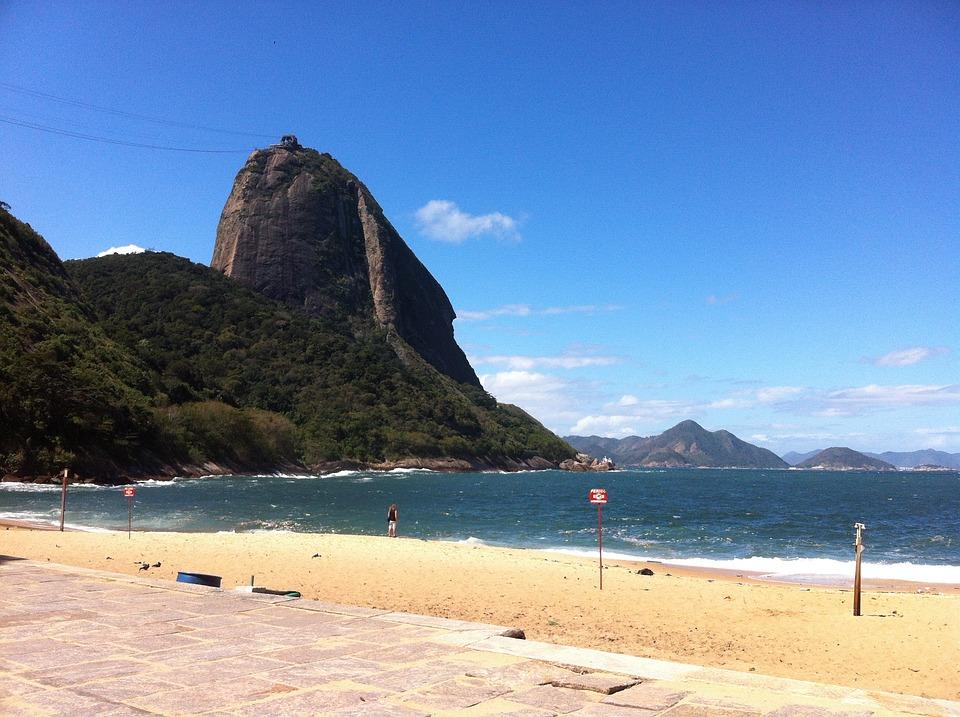 Beach, Complexo Do Pão De Açúcar, Rio De Janeiro