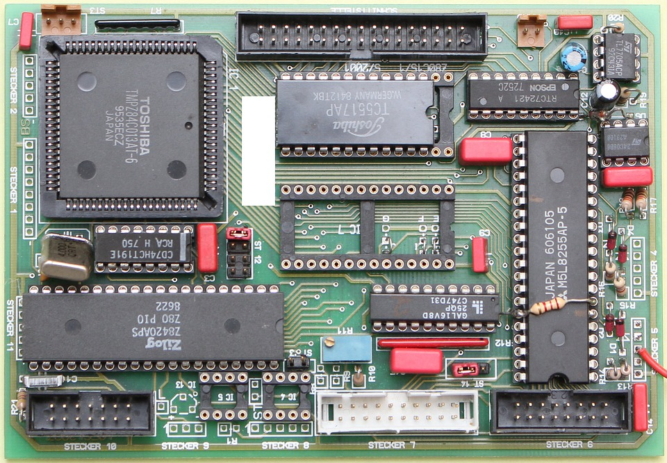 The Main Processor, Semiconductor, Microchip, Component