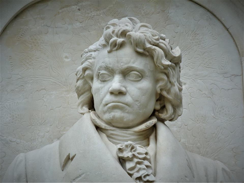 Beethoven, Monument, Composer, Tiergarten, Berlin
