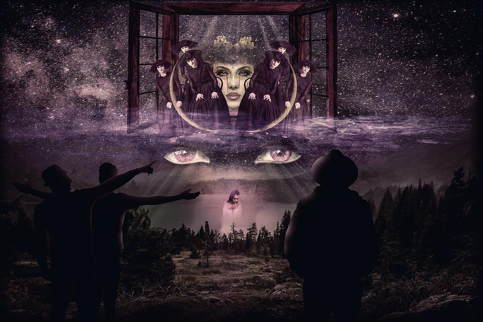 Mystical, Mysterious, Composing, Fantasy, Symbolic