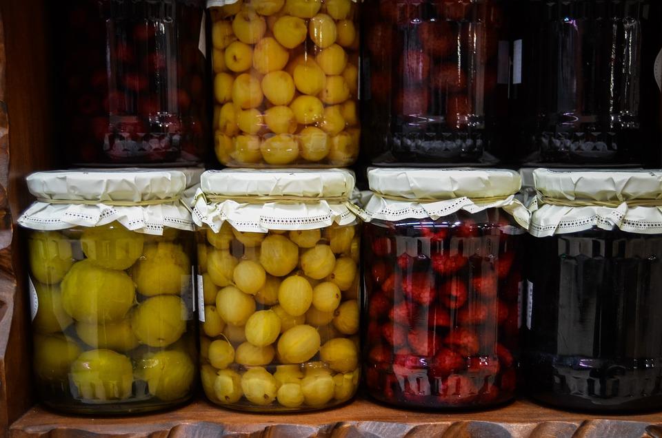 Compote, Preparations, Jars, Fruit, Jam, Natural Food