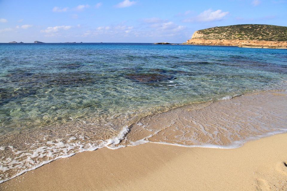 Beach, Compta Creek, Eivissa