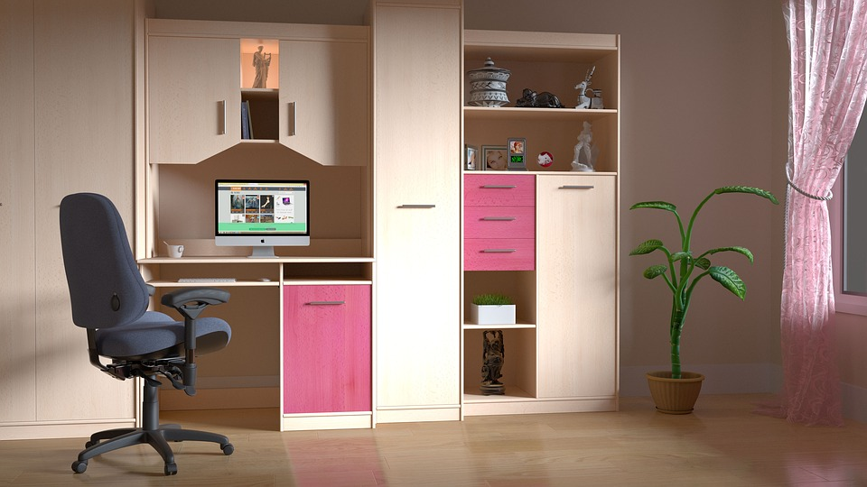 Computer Room, Room, Computer, Work, Indoors, Interior