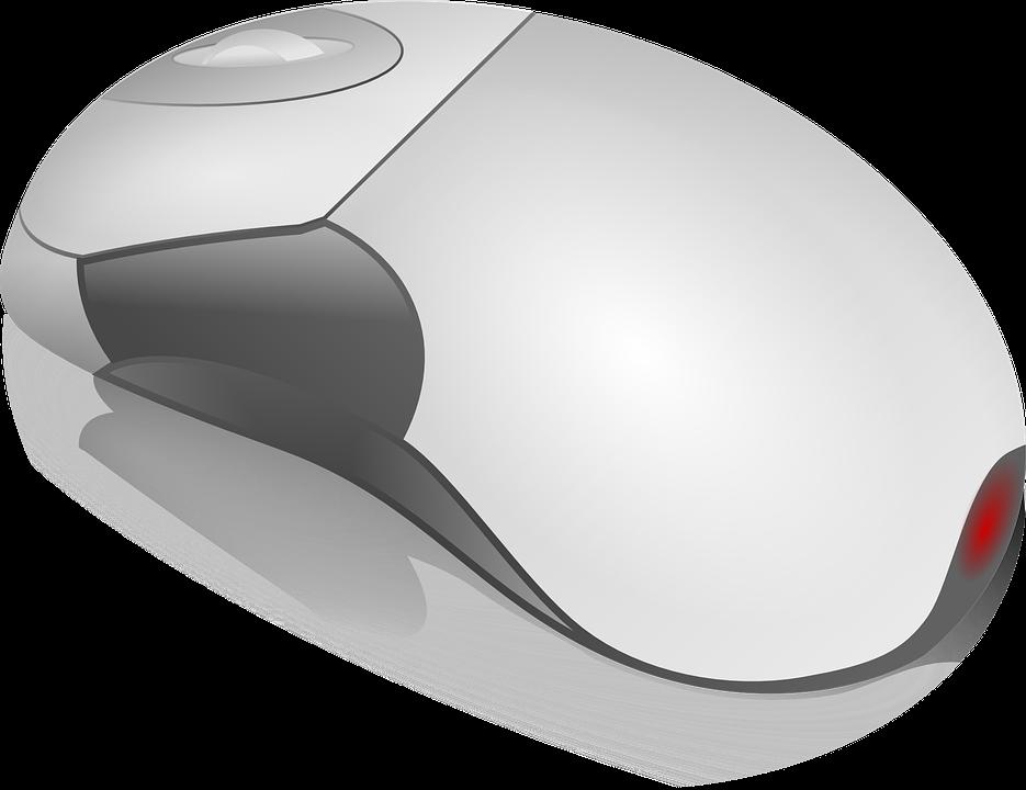 Computer Mouse, Hardware, Wheel, Click, Web, Input