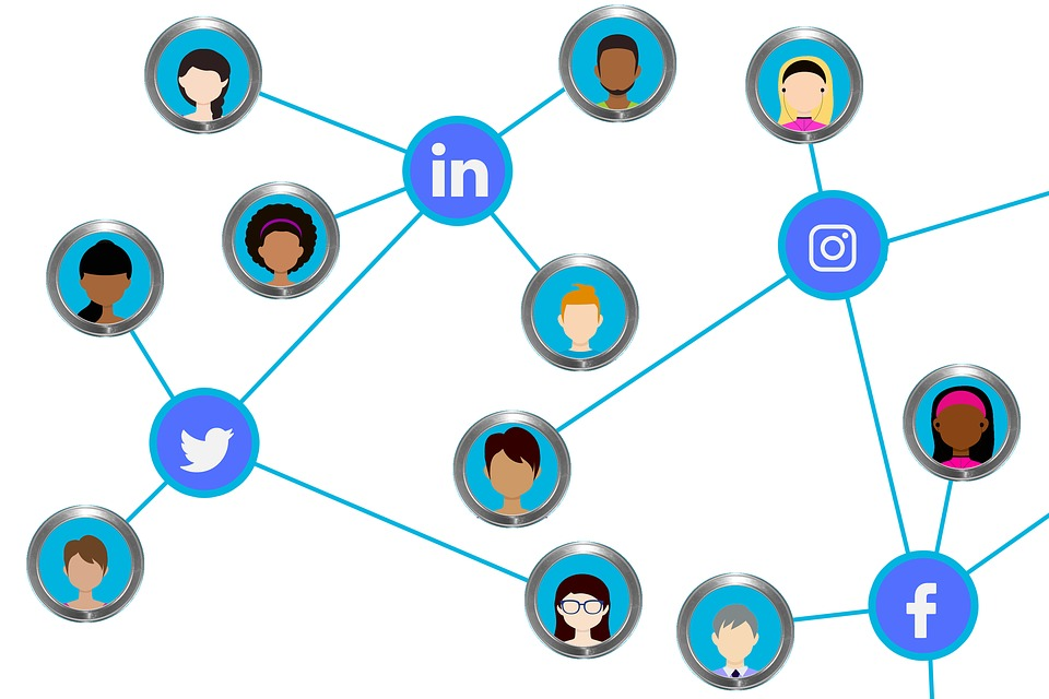 Social Media, Connection, Network, Computer Network