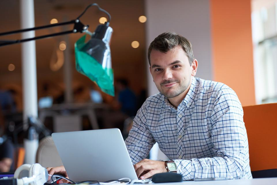 Entrepreneur, Computer, Man, Office, Undertake, Worker