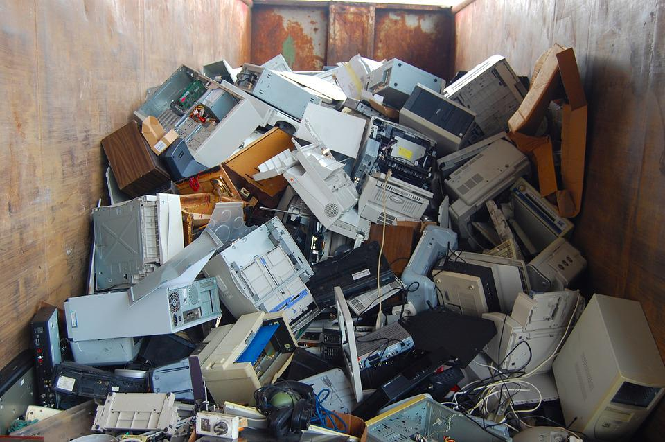 Computer, Scrap, Technology, Garbage, E Waste, Old
