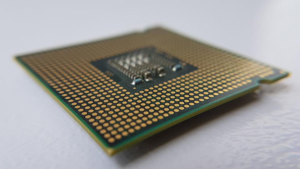Microchip, Computer, Macro, Parts, Components, Inside