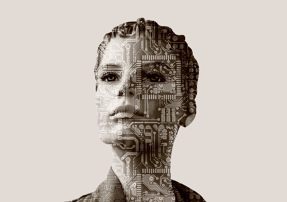 Woman, Artificial Intelligence, Computer Science