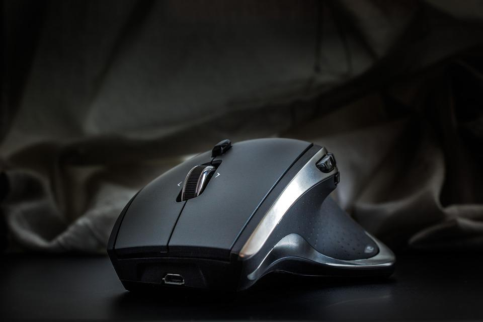 Mouse, Computer, Desk, Working, Business, Technology