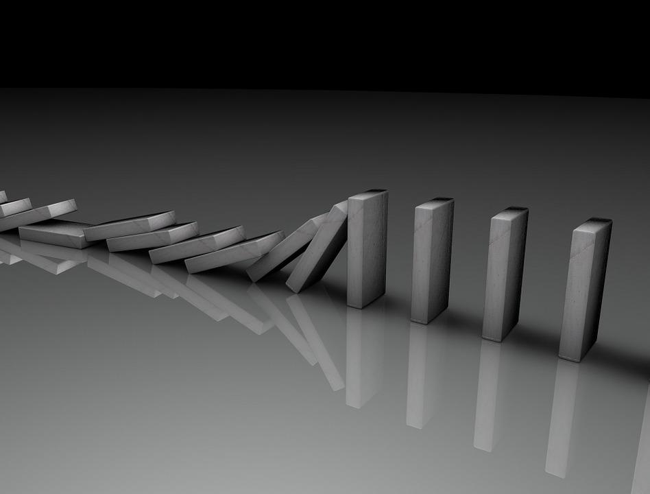 Domino, Circuit, Element, Concept, Business