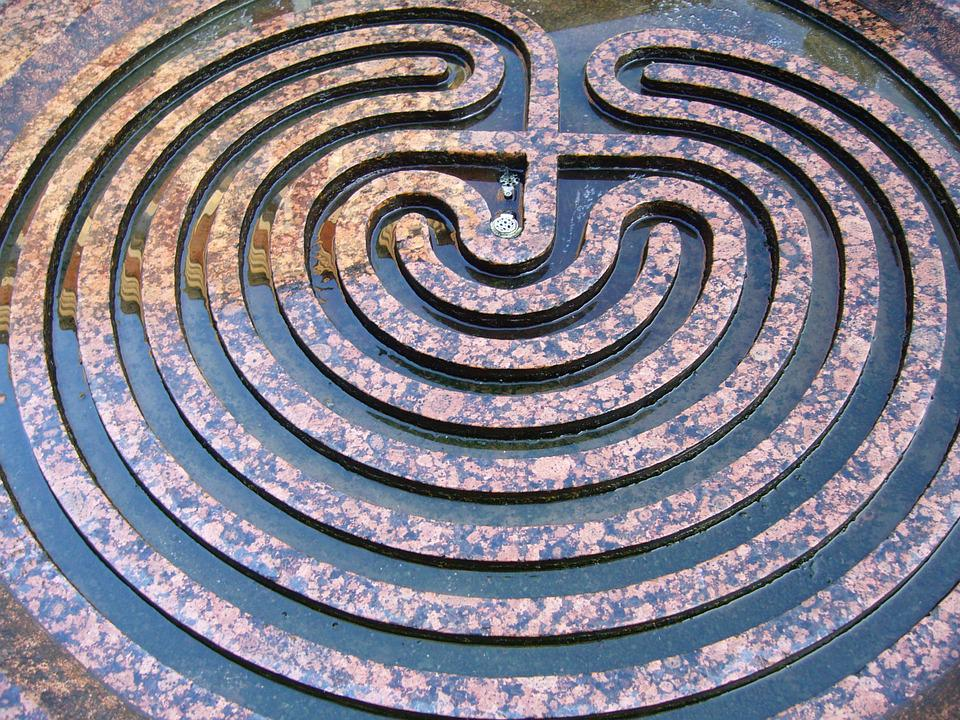 Labyrinth, Target, Planning, Away, To Find, Conception