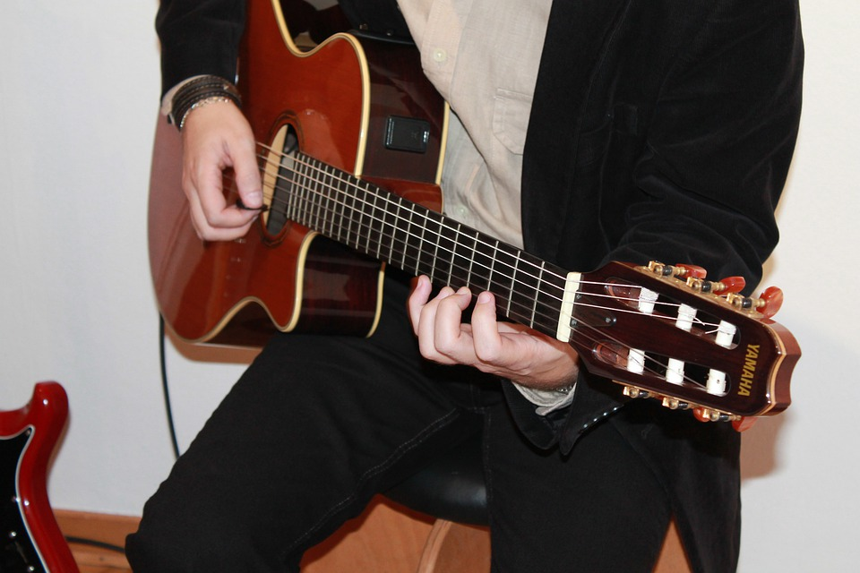 Acoustic Guitar, Guitar, Concert, Giterrenspieler