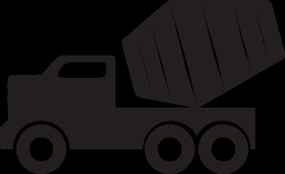 Concrete, Concrete Mixer, Concrete Mixer Truck, Mixer