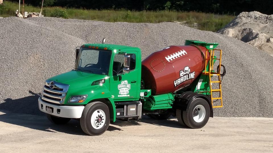 Mechanical Engineering, Concrete Mixer Truck, Tanker