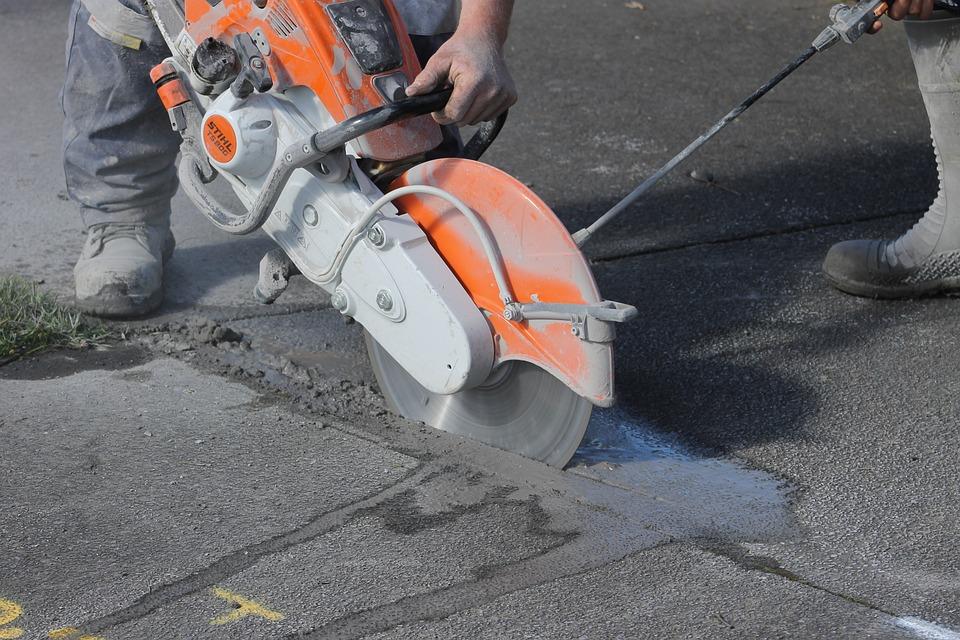 Concrete, Saw, Cutoff, Husqvarna, Stihl, Hard, Diamond