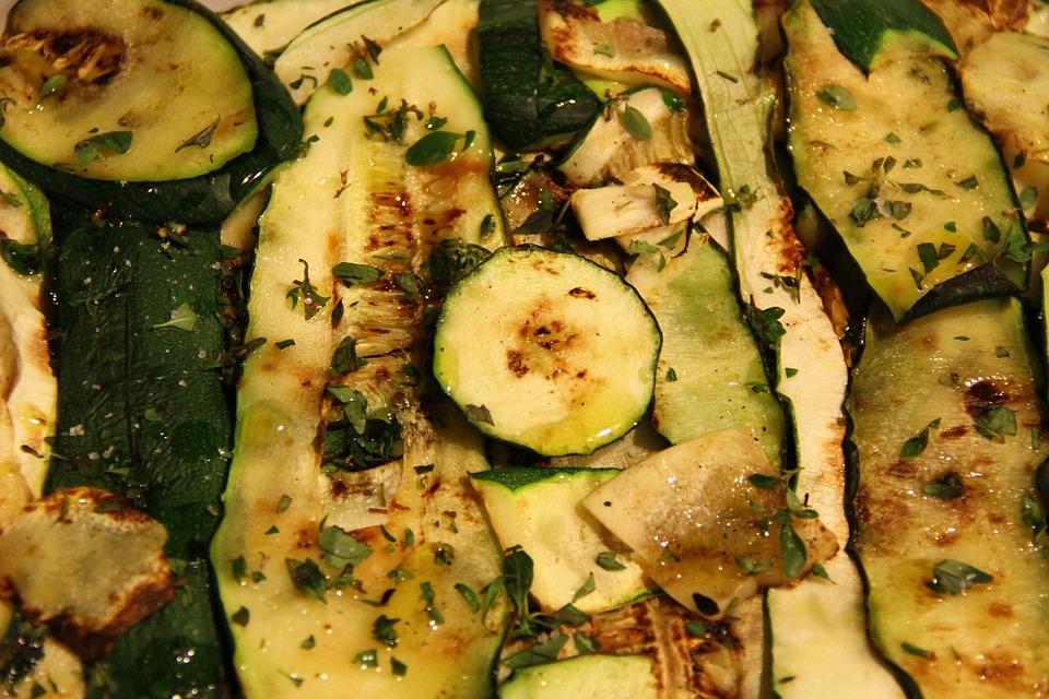 Zucchini, Vegetables, Grid, Condiment, Kitchen