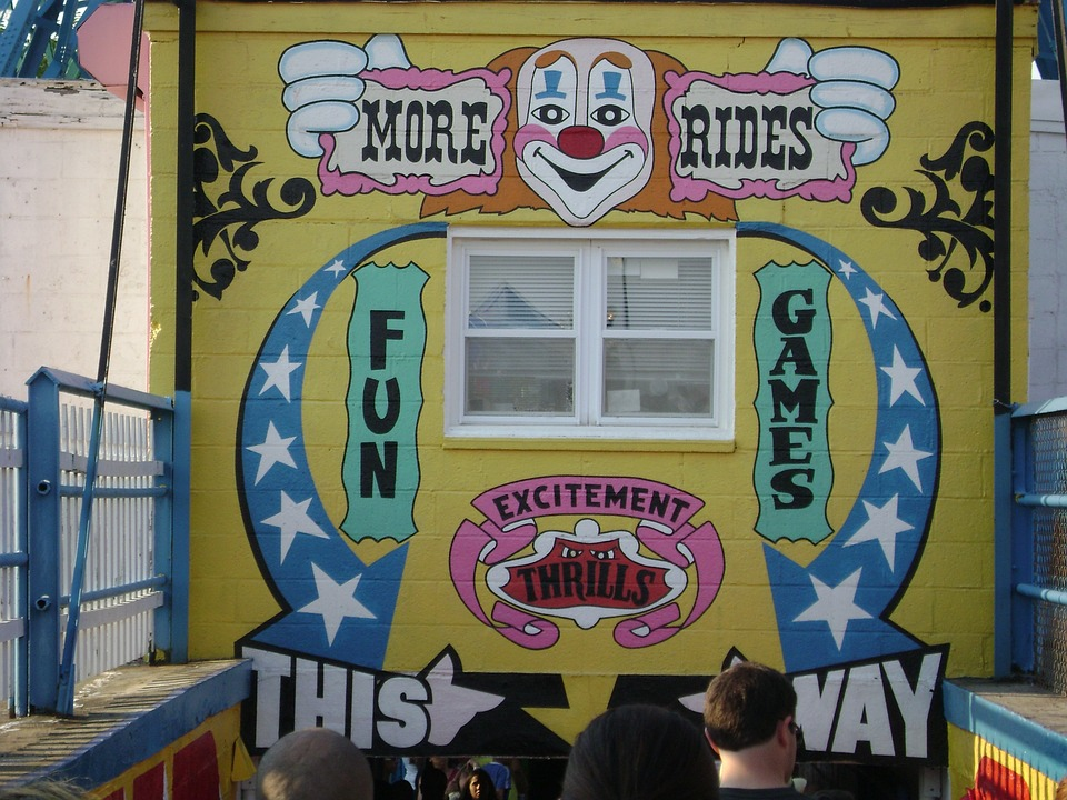 Fun House, Coney Island, Amusement Park