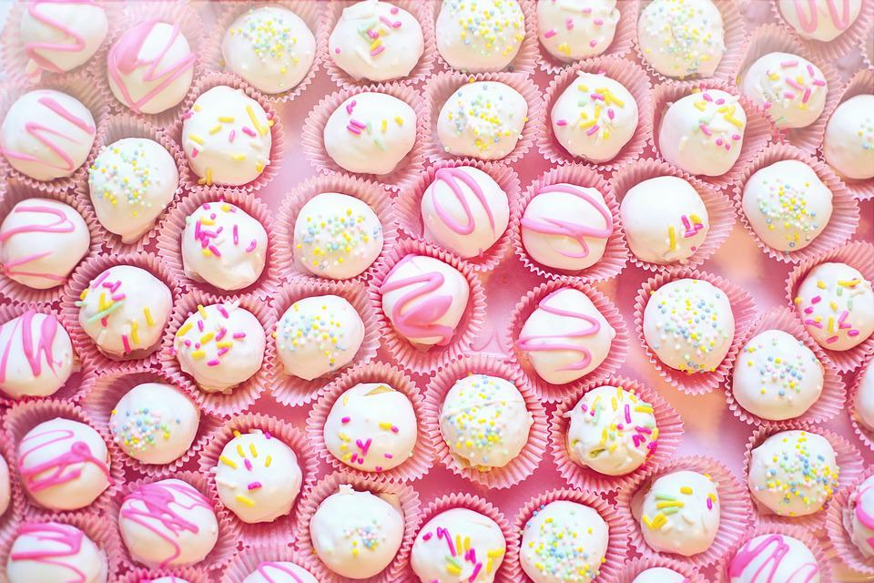 Cake Balls, Dessert, Sweets, Confectionery, Treat