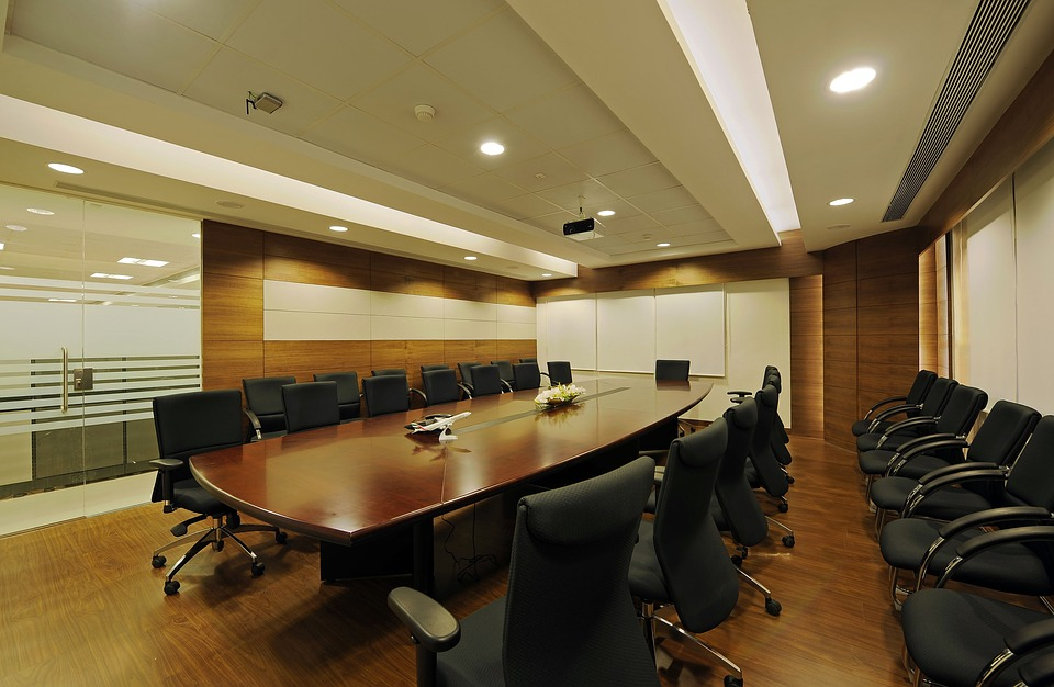 Office Space, Boardroom, Conference, Brown Office