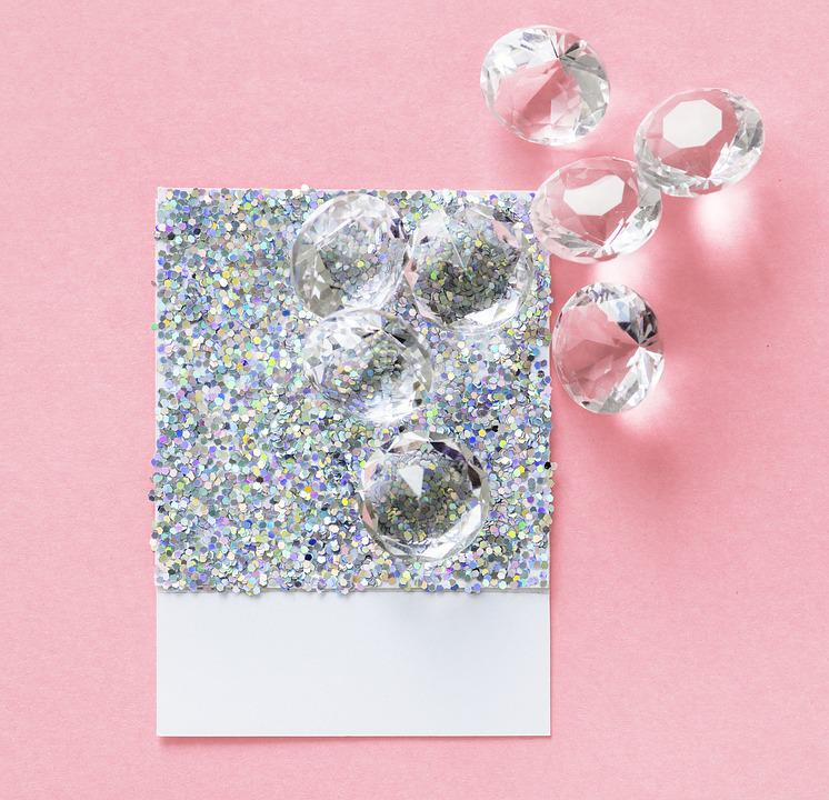 Carat, Card, Confetti, Craft, Crystal, Decoration