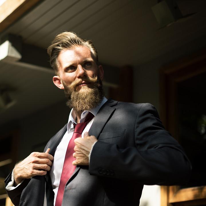 Beard, Boldness, Business, Businessman, Confidence