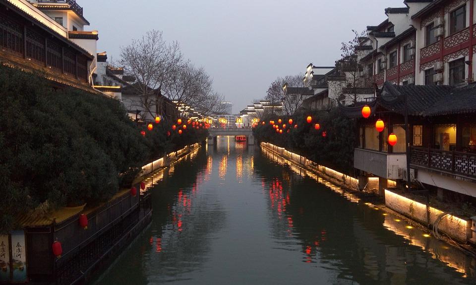 Twilight, Confucius Temple, Light
