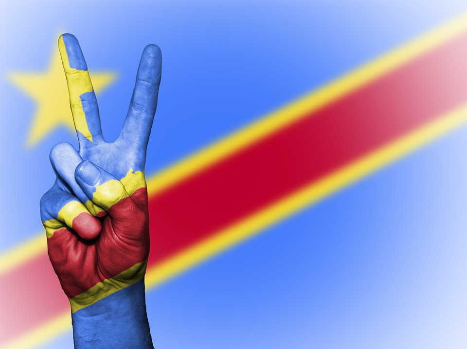 Congo, Democratic Republic Of The, Peace, Hand, Nation