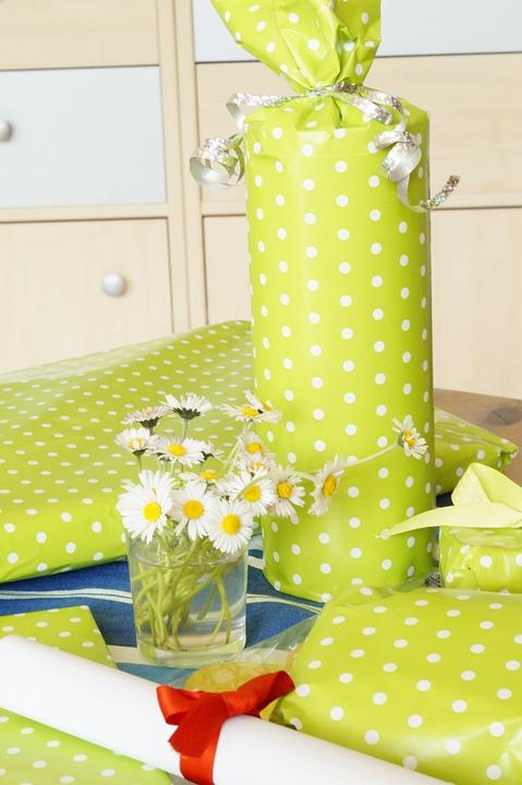 Birthday, Birthday Table, Gifts, Congratulate
