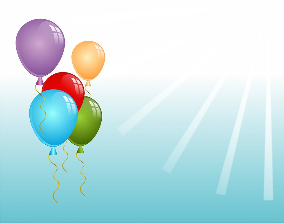 Bright Holiday With Balloons Royalty Free Stock Images - Image ...