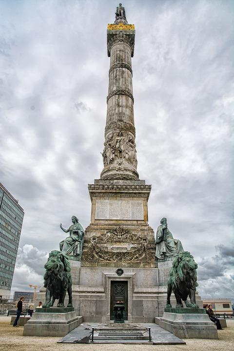 Congress Column, Independence Column, Brussels, Europe