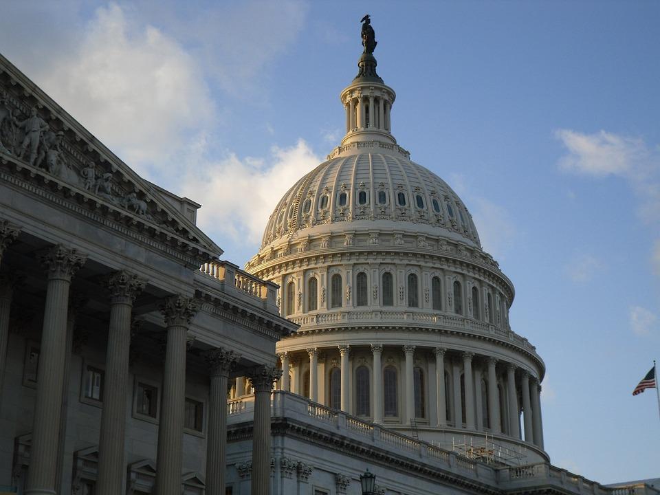 United States, Washington, Dc, Congress, Capitol