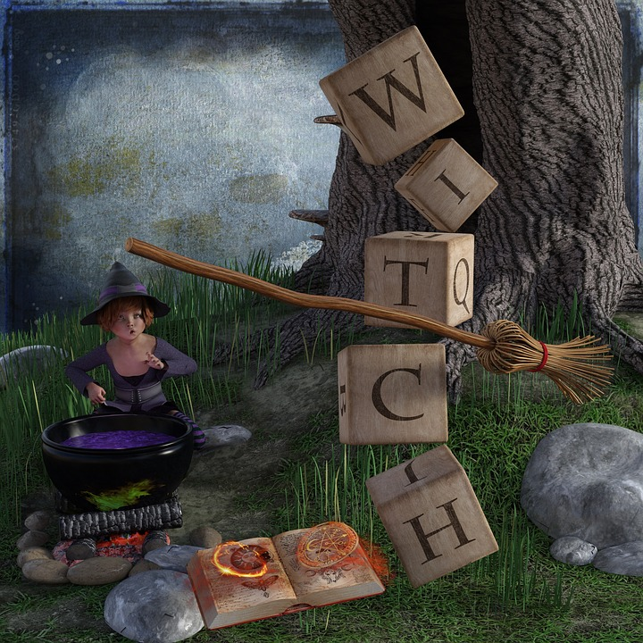 The Witch, Halloween, Conjure, Boiler, Broom