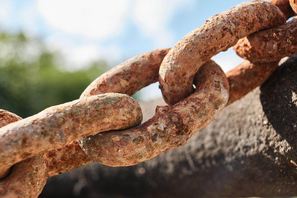 Chain, Members, Chain Link, Connection, Iron, Connected