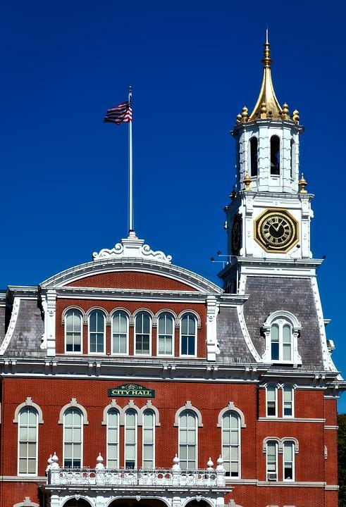 Norwich, Connecticut, City Hall, Building, Architecture