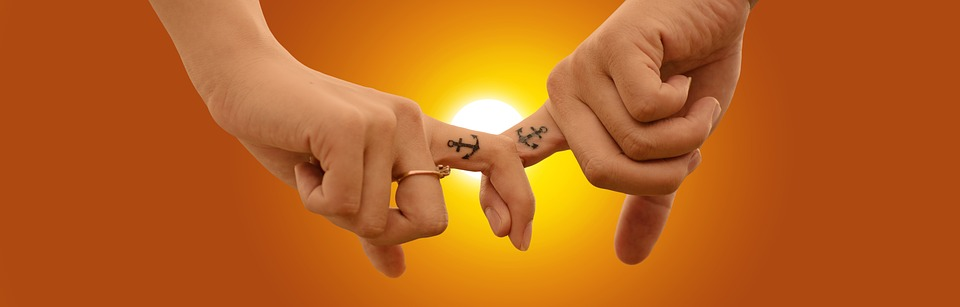Love, Hand In Hand, Hands, Connection, Anchor, Heart