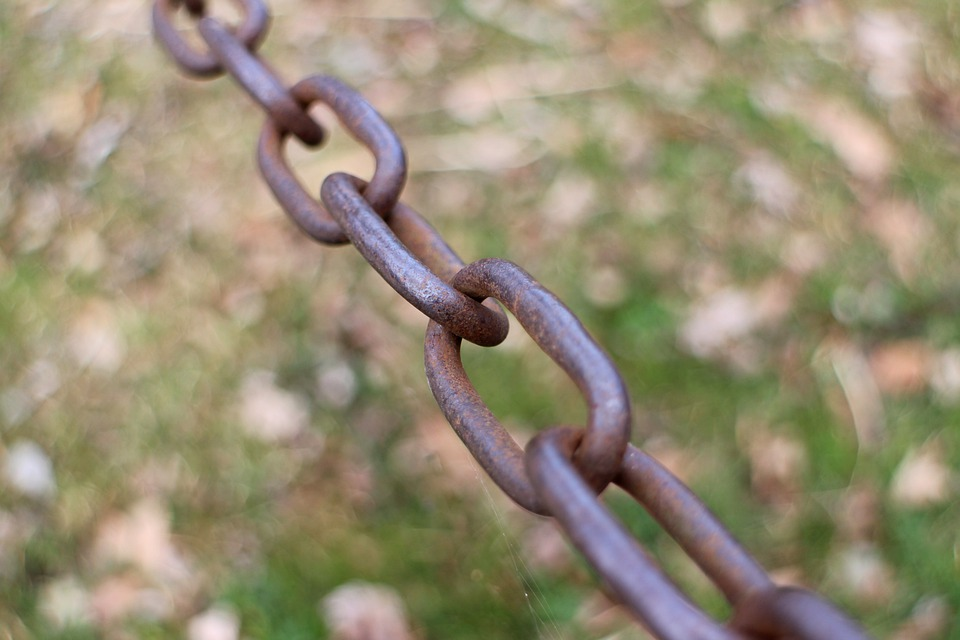 Chain, Metal Chain, Links Of The Chain, Connection