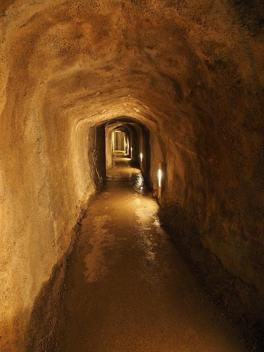 Tunnel, Gang, Underground, Säntis, Connection Path