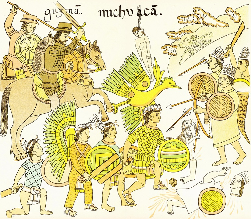 Aztec, Conquistador, Mexico